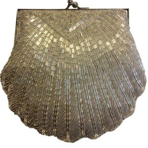 Lord & Taylor Bags - Lord & Taylor Vintage Beaded Shell Purse
